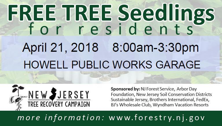 New Jersey Tree Recovery Campaign 2018