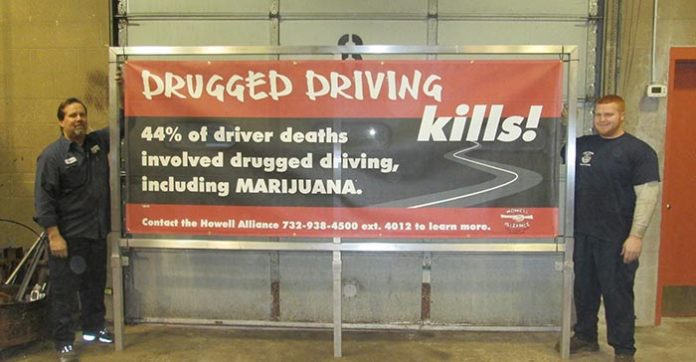 Anti-Drug Messages to be Displayed Around Town